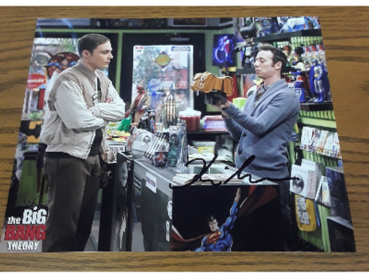 Autographed Kevin Sussman Big Bang Theory pictures