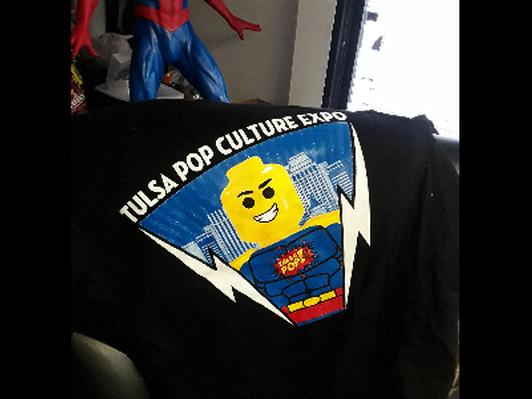 Legoman Black T shirt