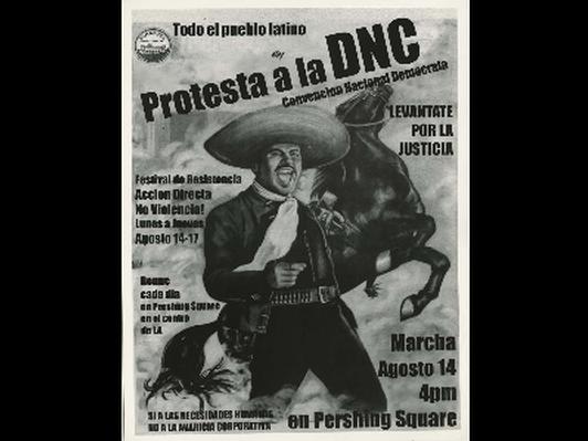 Todo el pueblo latino en Protesta a la DNC