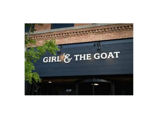 Girl and the Goat Gift Certificate