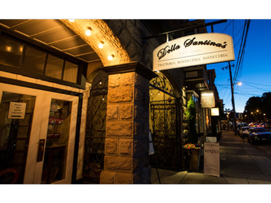A Night Out at Della Santina's