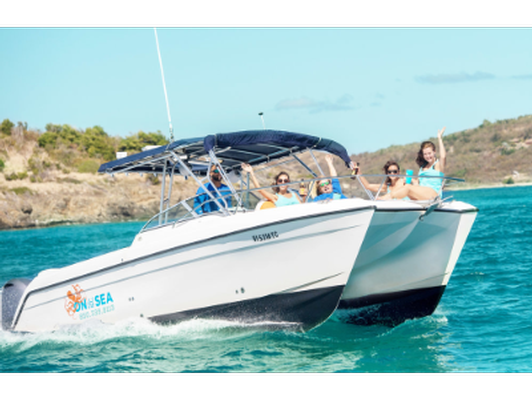 Half-Day Charter for 6 with On the Sea Charters