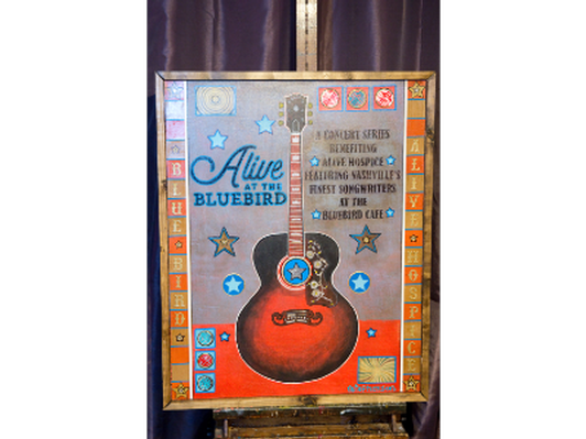 2020 Alive at the Bluebird original Art by Ray Stephenson