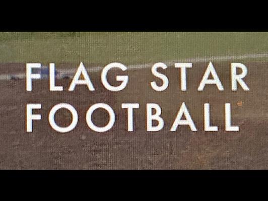 Flag Star Football