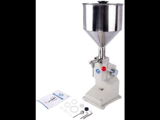 Manual lotion bottle filling machine