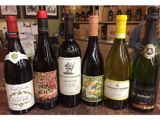 Curated Set of Wines
