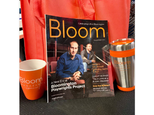 Bloom Magazine Subscription and Swag Bag