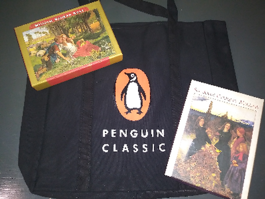 Literature-Inspired Note Cards and Penguin Tote