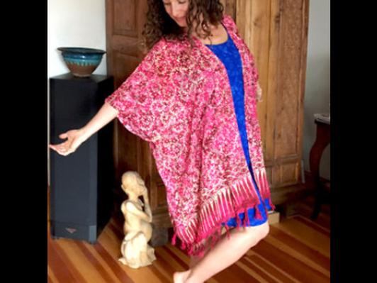 Uniquely designed batik clothing