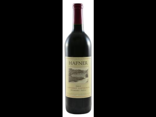 Hafner Vineyard 2003 Wine Library Cabernet Sauvignon