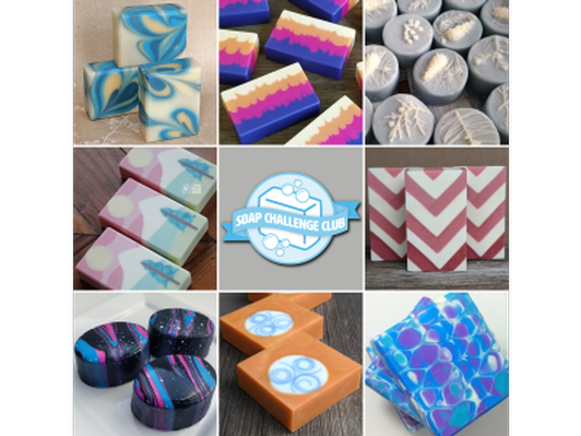 Soap Tutorials from the Soap Challenge Club