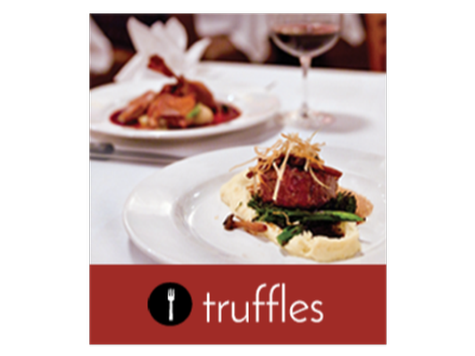 Truffles Wine Dinner for Two