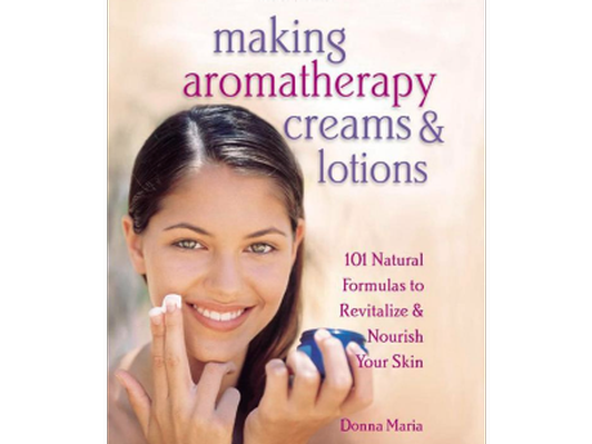 Personalized autographed copy of Making Aromatherapy Creams and Lotions
