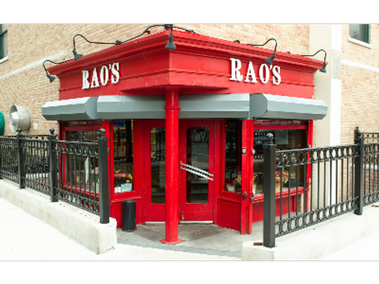Dinner for two at Rao's