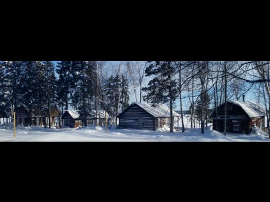 Moosehead Lake escape and primitive moose sculpture