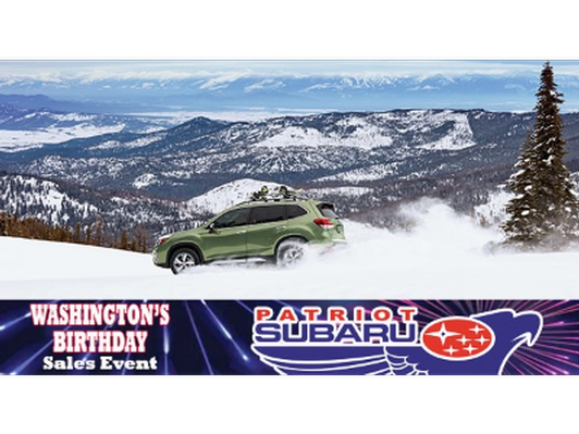 Patriot Subaru Gift Card for Oil Change and Tire Rotation