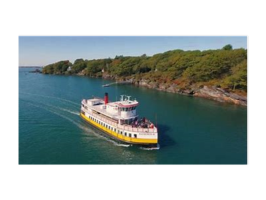 Casco Bay Lines Mailboat Run Cruise for 2