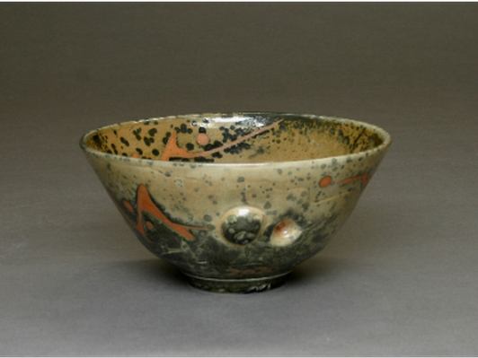 Carbon-Trap Shino Bowl