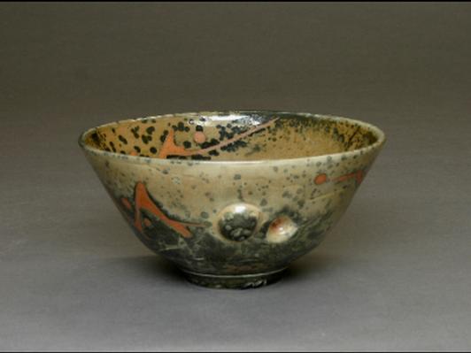 Carbon-Trap Shino Bowl