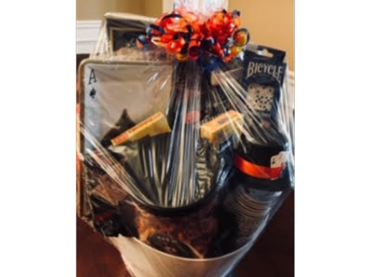 Game Night Gift Basket