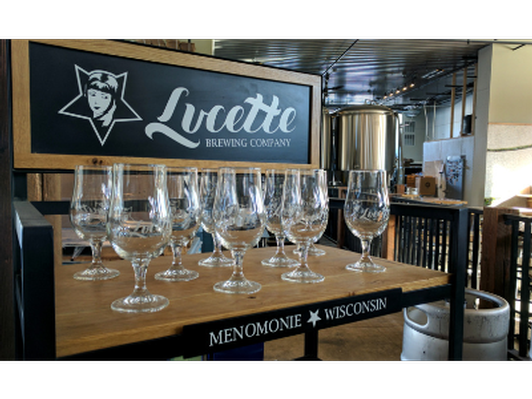 Pizza and Beer Tasting at Lucette Brewing Company in Menomonie