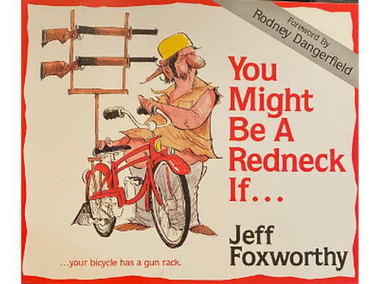 Comedian Legend Jeff Foxworthy Signed Book
