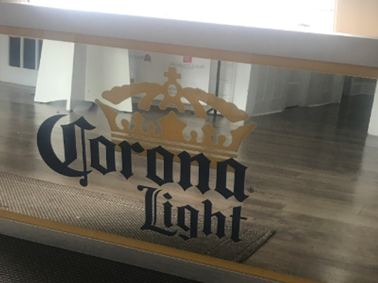 Corona Light Mirror