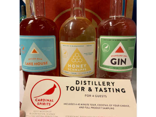 Cardinal Spirits Tour and Bottles!