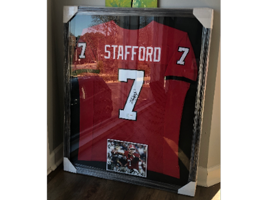Georgia Bulldogs Matthew Stafford Signed Jersey