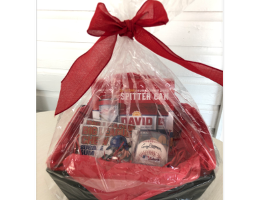 Corey Patterson Signed Baseball Basket