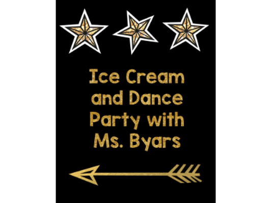 After School Ice Cream Social and Dance Party - Ms. Byars