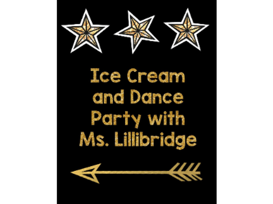 After School Ice Cream Social and Dance Party - Ms. Lillibridge