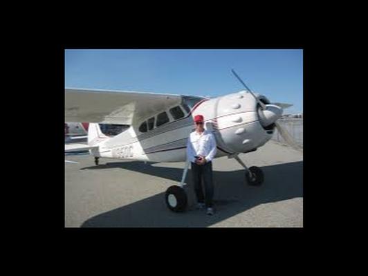 Cessna 195 Flight