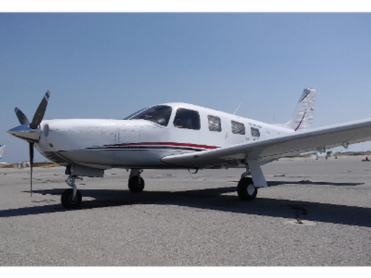 Two hours in the Saratoga, N349MA