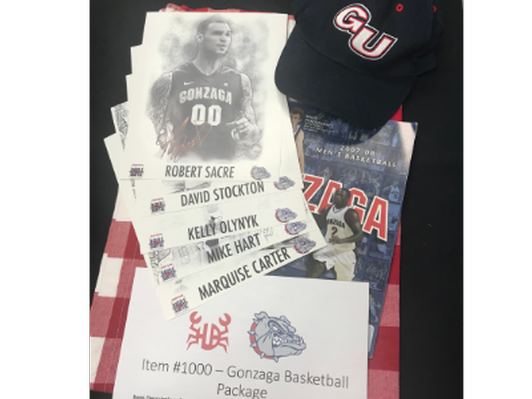 Gonzaga Basketball Package