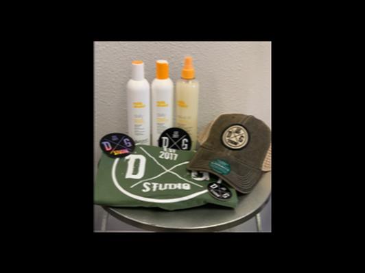 DG Studio Hair Care Package