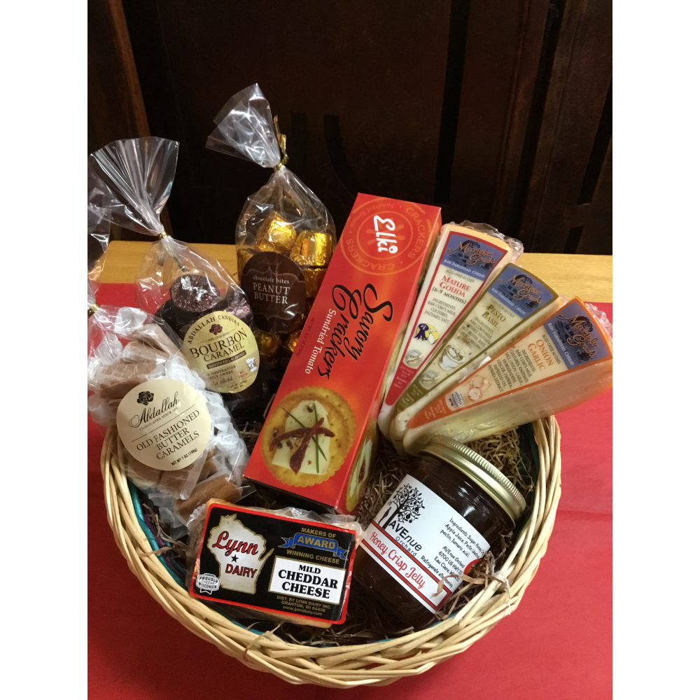 Chocolate and Cheese Basket