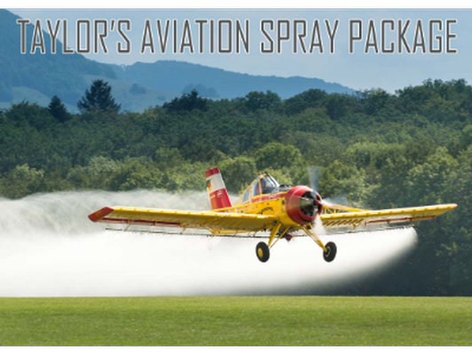 Taylor's Aviation Spray Package