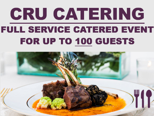 Full Service Catered Event (100 Guests)