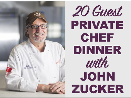 Private Chef Dinner with John Zucker
