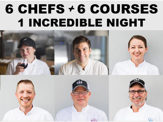 Collaborative Chef Dinner at Purlieu - 6 Chefs - 6 Courses (20 Guests