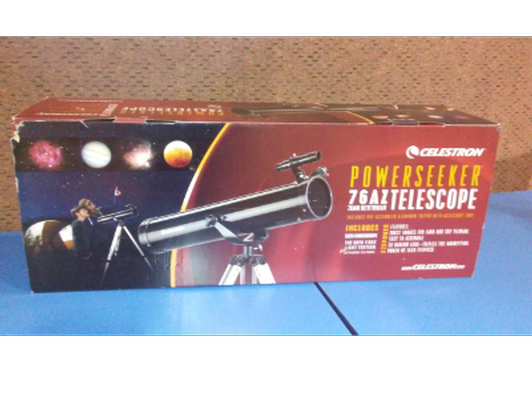 Celestron Powerseeker 76AZ Telescope