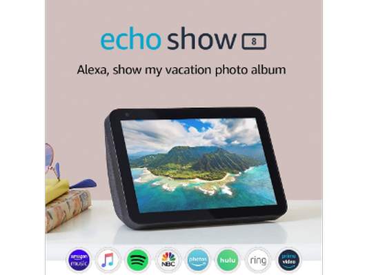 "2 - Echo Show 8 - HD 8"" smart display with Alexa"