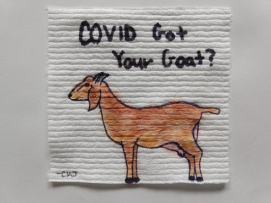 COVID Got Your Goat? Artist: Carrie Jensen