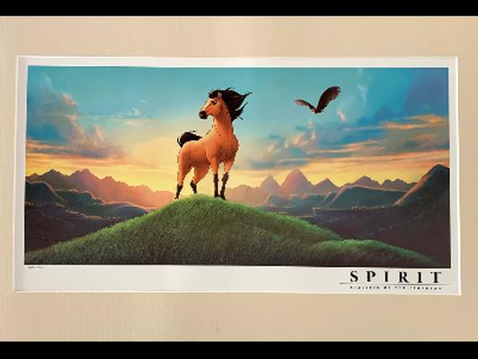 Spirit: Stallion of the Cimarron Lithograph