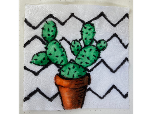 Prickly Pear, Artist: Carly Powell