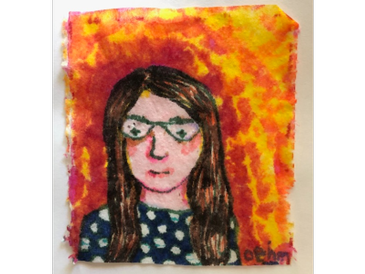 Tiny Portrait #2, Artist: Christy Oehm