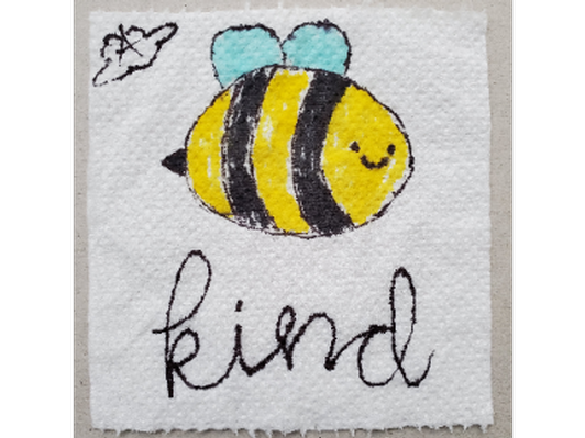 Bee Kind, Artist: Angela Cloud