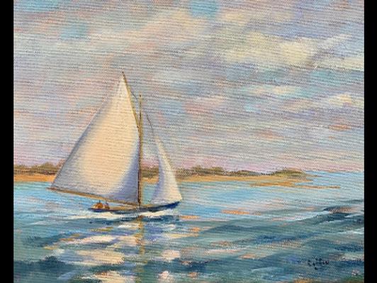Sailing on Nantucket Sound
