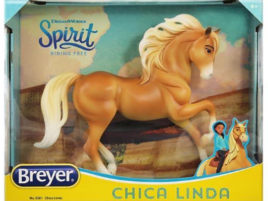 """Chica Linda"" Breyer model horse from Calabasas Saddlery"